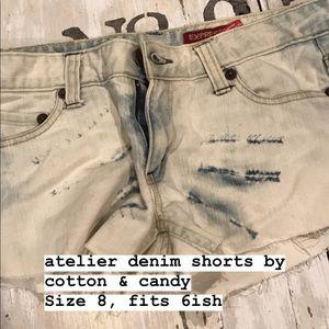 Pants - atelier denim shorts